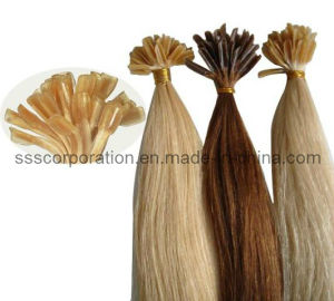 Chinese Remy Human Hair Pre-Bonded Hair pictures & photos