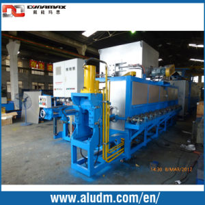 Aluminum Extrusion Machine in Log Furnace with Hot Log Shear pictures & photos