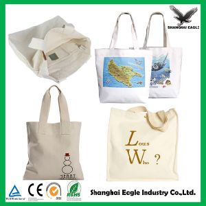 Custom Standard Size Shopping Cotton Bag pictures & photos