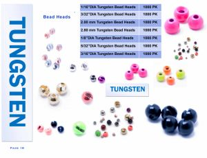 Wholesale Skirt Punch Tungsten Bead Heads pictures & photos