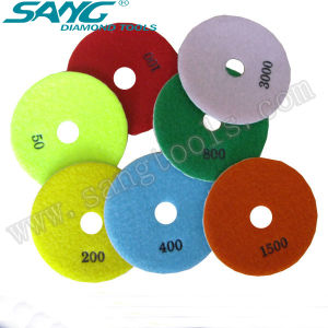 Manufacture Stone Wet and Dry Polishing Pad (SA-058) pictures & photos