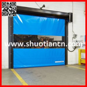 China Manufacturer Industrial Automatic Fast Shutter Door pictures & photos