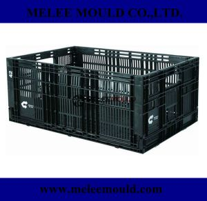 Plastic Injection Folding Crate Mould pictures & photos