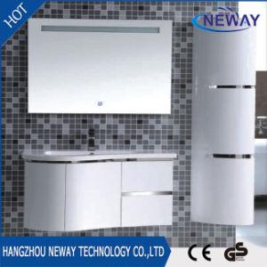 Modern PVC LED Mirror Design Bathroom Vanity Cabinet pictures & photos
