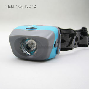 Waterproof 1 Watt LED Headlamp (T3072) pictures & photos