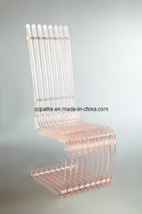 Lucite Glass Chair