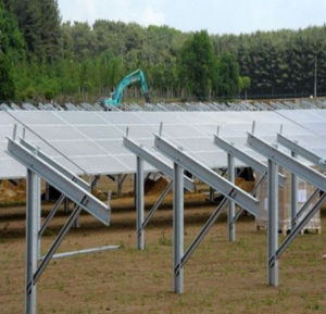 Ground Base Solar Powered Support / Photovoltaic Support pictures & photos