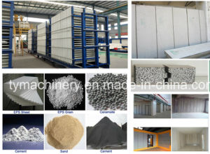 EPS Cement Wall Panel Making Machine pictures & photos