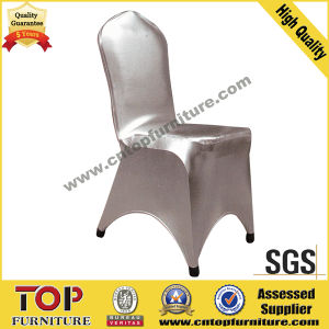 Stretch Spandex Lycra Shine Wedding Chair Cover pictures & photos