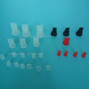 Medical Devices Molded FKM EPDM Br NBR Silicone Rubber Valve pictures & photos