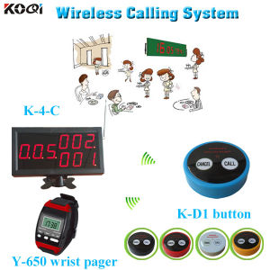 Electronic Ordering System Display K-4-C with Wireless Waiter Call Button pictures & photos