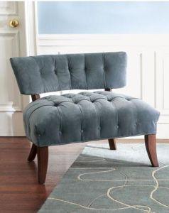 Modern Indoor Linen Fabric Accent Chair Club Chair (WGK8015)