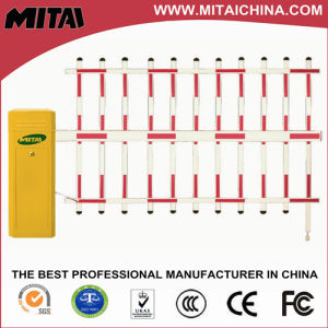 Automatic Parking Barrier Gate with Double Fence
