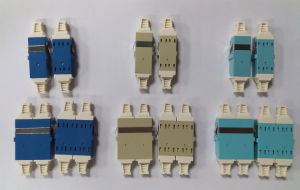 Sc/LC/FC/St Single Mode/Multimode Simplex/Duplex Optical Coupler Fiber Optic Adapter pictures & photos