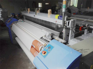 Low Cost Air Jet Loom with Plain Shedding Double Nozzle pictures & photos