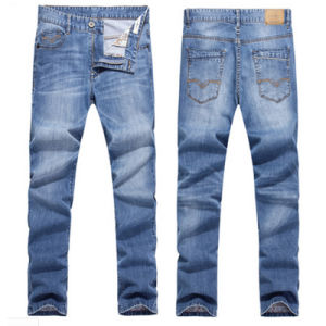 OEM Men′s Best Quality Cotton Stretch Denim Jean