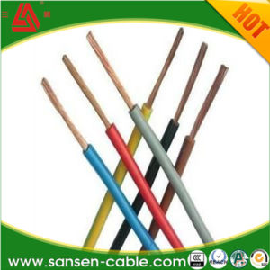 PVC Insulated Electric Wire Single Conductor Wire (BV /H07V-U) pictures & photos