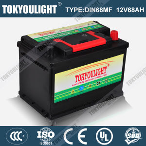 Maintenance Free 12V Car Battery with DIN68mf 12V68ah