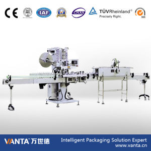 10800bph Automatic Sleeving Labeler Shrink Sleeve Labeling Machine