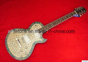 Real Abalone Inlay Body Top Lp Electric Guitar pictures & photos
