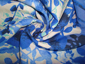 Print Silk Cotton Interweave Poplin Fabric pictures & photos