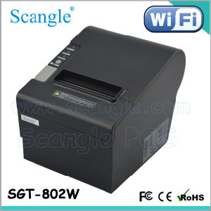 WiFi Thermal Printer/80mm Thermal Receipt Printer/POS Printer with WiFi Port pictures & photos