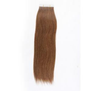 Keratin Human Hair Weft Tape Hair Extension Skin Weft