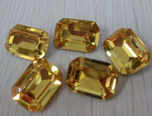 Rectangle Fancy Crystal Loose Beads for Jewelry Making pictures & photos