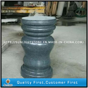Polished G654 Dark Grey Granite Stone Baluster pictures & photos