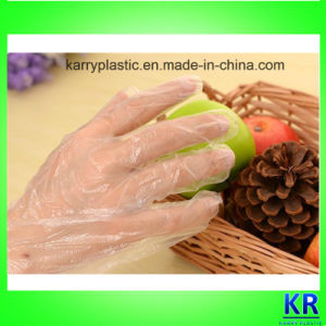 HDPE Disposable Gloves pictures & photos