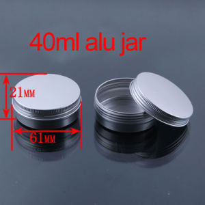 40g Screw Cap Hand/Facial Cream Aluminium Container/Jar/Cans pictures & photos