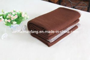 Woven Woolen Pure Wool Blanket (NMQ-WT006) pictures & photos