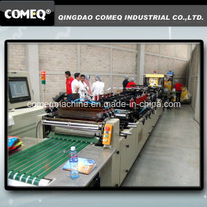 Plastic Side Seal and Gusset Bag Machine (ESD600SZ) pictures & photos