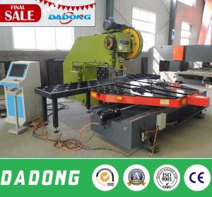8 Tools Sheet Metal Hole CNC Punching Machine with Feeding Platform pictures & photos