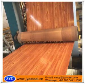 Wood Grain Design PPGI Coils for Interior Decoration pictures & photos