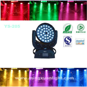 PRO Stage Light 36*15W LED Moving Head Wash Zoom 6in1 pictures & photos