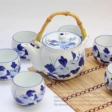 Beauty Hand-Painted Ceramic Tea Set