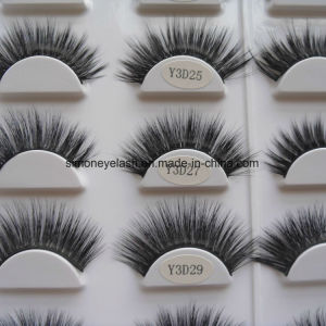 3D Faux Mink Silk Lashes Synthetic Fake Eyelashes pictures & photos