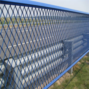 PVC Coated Expanded Metal Fence pictures & photos