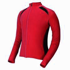 Lucky Long Sleeve Red Sublimation Cycling Wear
