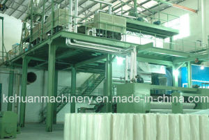 3.2m Doulble Beam Polypropylene Spunbond Non Woven Fabric Making Machine pictures & photos