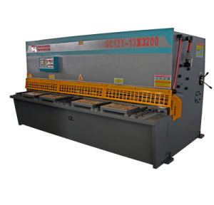 Hydaulic Shearing Machine Sliding Table Saw High Quality Durable Shear Machine pictures & photos