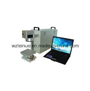 30W Portable Optical Fiber Laser Marking Machine for Metal pictures & photos