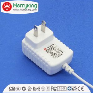 Wall Type UL Ce SAA Approved 50/60Hz AC DC Power Supply 12V DC Adaptor pictures & photos