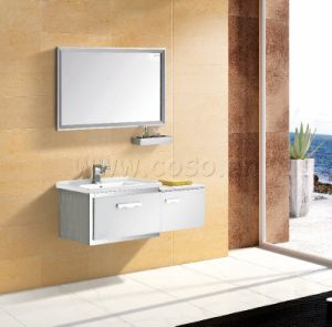 High Quality Stainless Steel Bathroom Cabinet BV2013-033 pictures & photos