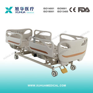 Ce Approved Three Functions Electrical Hospital ICU Bed pictures & photos