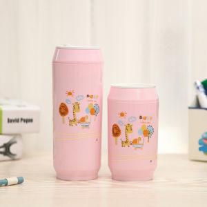 L Can Shape Coffee Mug 1st - Pink Fallow Deer