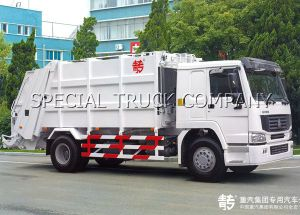 Sinotruk HOWO Rear Garbage Truck 2 Axle pictures & photos