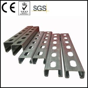 Q235 Carbon Steel Slotted Unistrut Channel C Profile