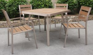 Aluminium&Polywood &Texilene SGS Approved Sofa Set (BZ-BR015)